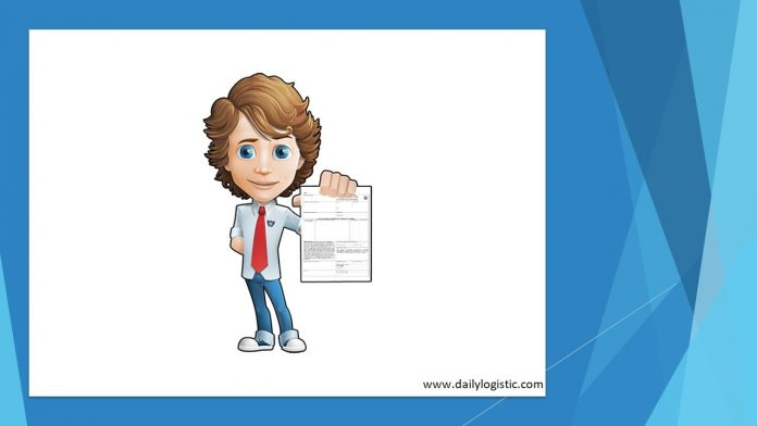 Daily Logistic, Bill of lading