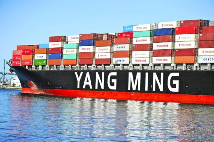 Yang Ming Reaches Carbon Emission target 11 years ahead