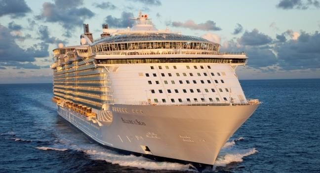 10 Biggest Cruise Ships in 2021- Allure of the Seas Daily Logistics