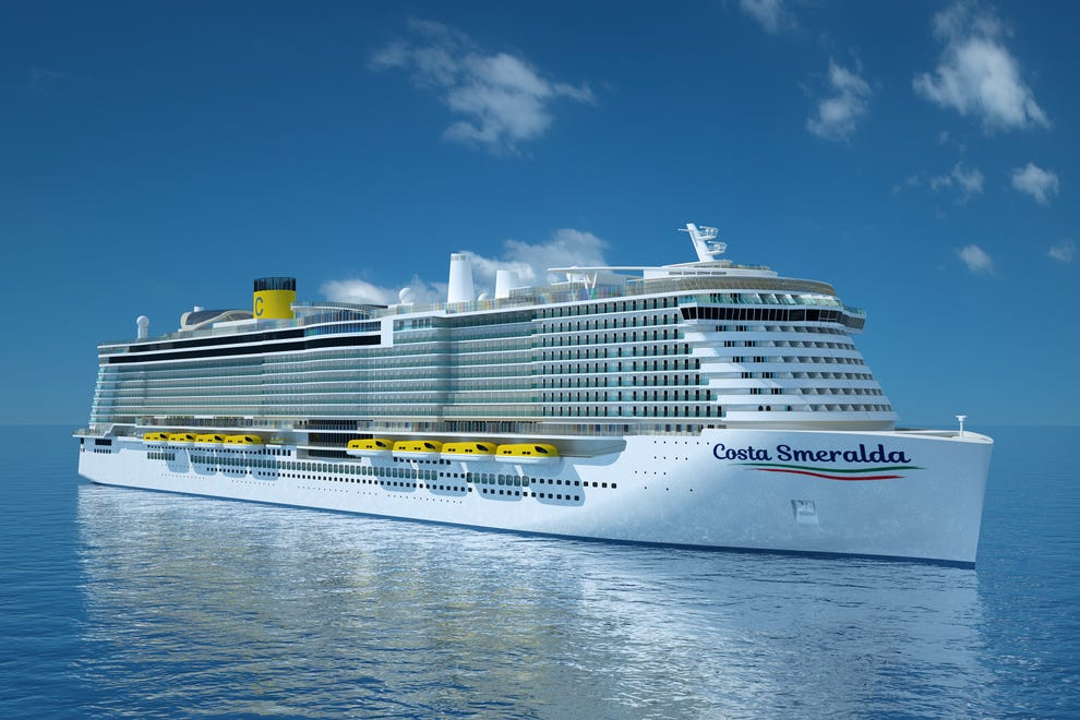 10 Biggest Cruise Ships in 2021- Costa Smeralda Daily Logistics