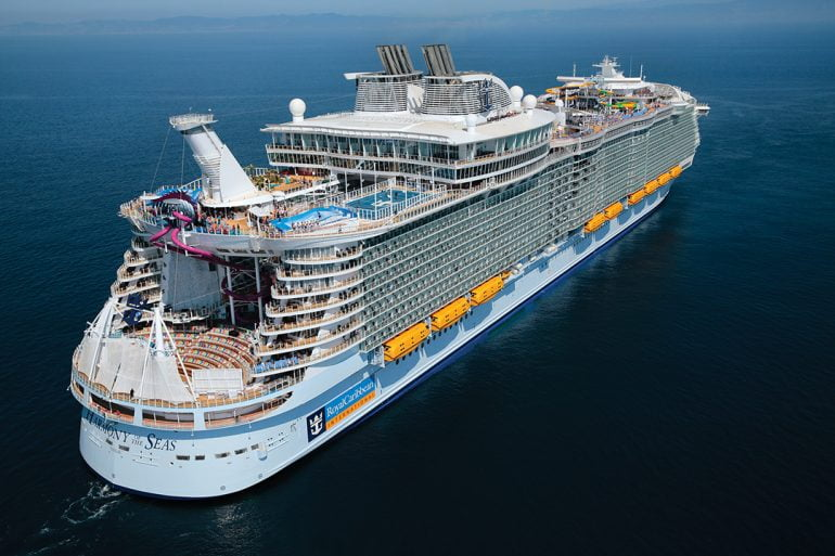 10 Biggest Cruise Ships in 2021- Harmony of the Seas Daily Logistics