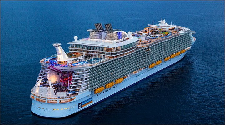 10 Biggest Cruise Ships in 2021- Symphony of the Seas Daily Logistics